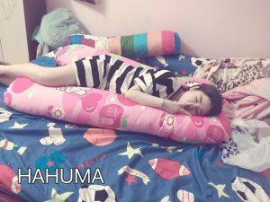 Chăm sóc giấc ngủ của bà bầu với gối chữ U