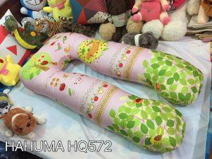 Gối kê bụng bầu chữ u vải Hàn Quốc chính hãng Hahuma mã HQ572