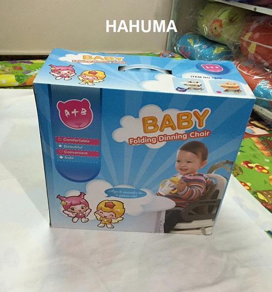 Ghế ăn ặm cho bé hộp đẹp làm quà tặng cho bé