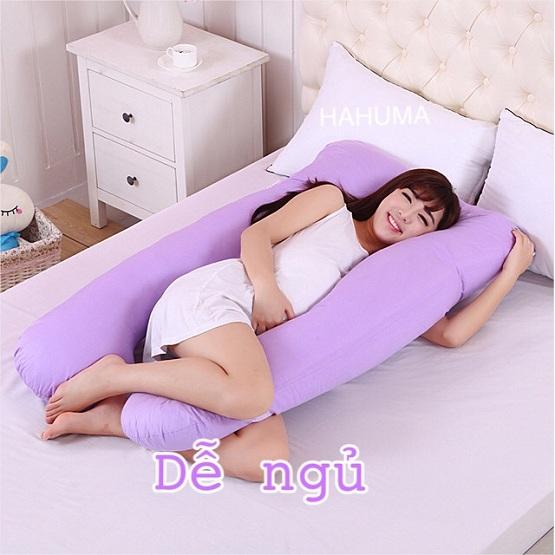 Thiết kế mềm mại gối chữ u cho bà bầu nằm dễ ngủ