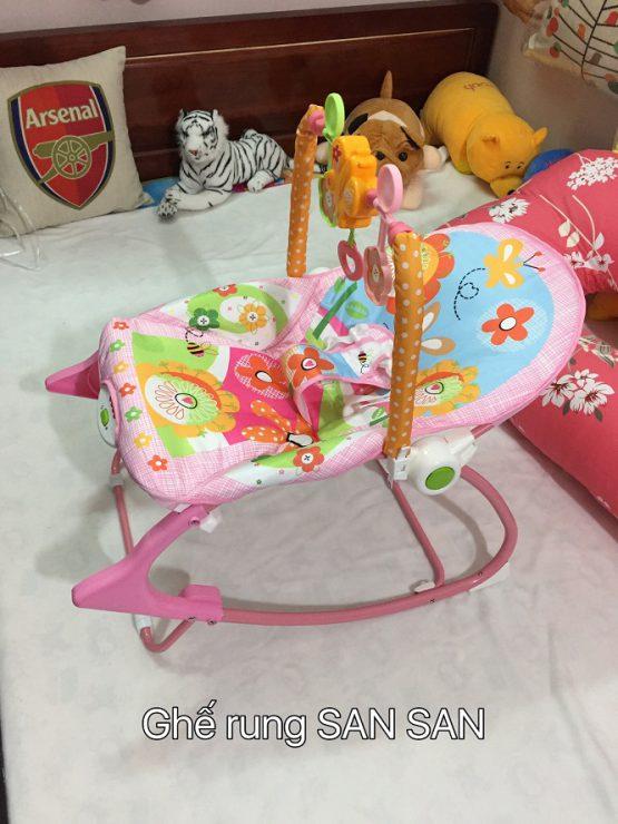 Ghế rung cho trẻ sơ sinh chính hãng Fisher Price