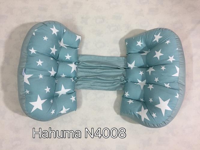 Gối hình nơ nâng đỡ bụng bầu và gối chặn cho bé Hahuma